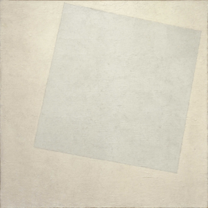 Suprematist Composition: White on White (1918) - Kazimir Malevich