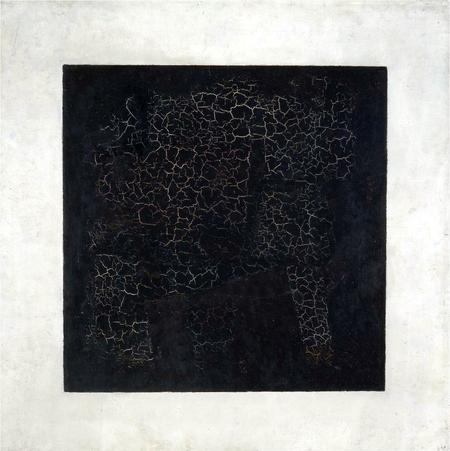 Black Square (1915) - Kazimir Malevich