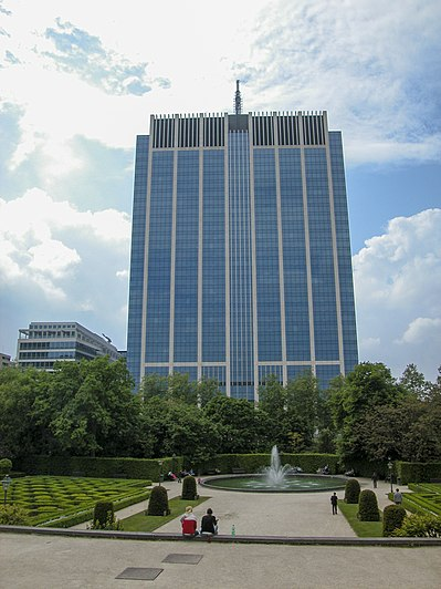 Financietoren in Brussel