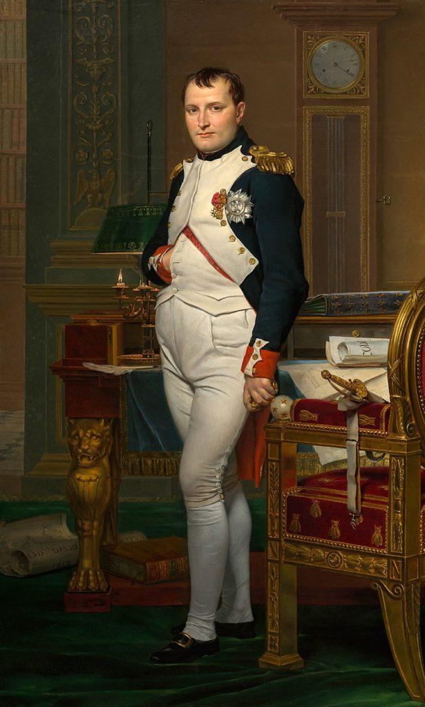 Napoléon dans son cabinet de travail / Keizer Napoleon in zijn studeerkamer in de Tuileries (1812) - Jacques-Louis David