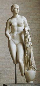 Afrodite door Praxiteles, in de Glyptothek in München