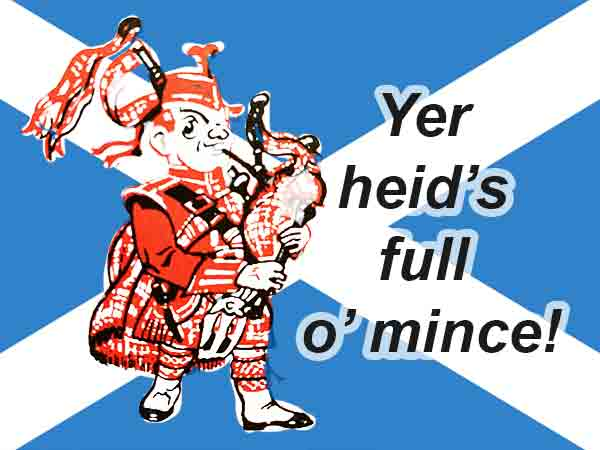 Bekende Schotse uitdrukkingen – 30 stuks