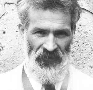 Constantin Brâncuși, 1922. Foto: Edward Steichen