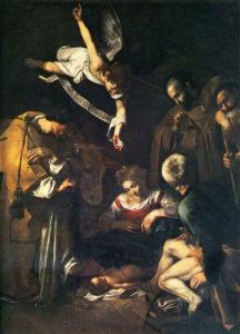 De geboorte van Christus (1609) - Caravaggio