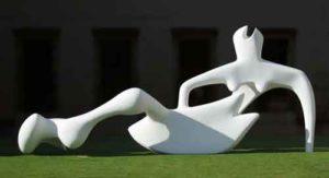 Reclining Figure (1951) - Henri Moore