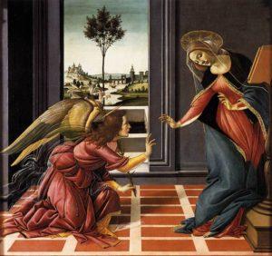 Annunciazione di Cestello / Aankondiging van Cestello (1499) - Sandro Botticelli