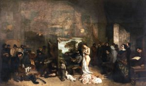 L'Atelier du peintre / Het atelier van de schilder - Gustave Courbet