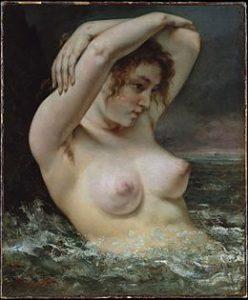 La Femme à la vague / De vrouw in de golf (1868)