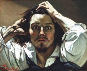 Le Désespéré / De wanhopige (1843-1845) - Gustave Courbet