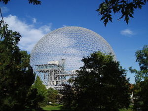Geodesic Dome Montreal Cananda