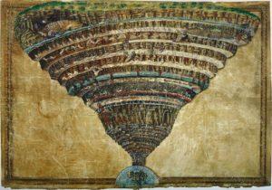 Disegni per la Divina Commedia / De kaart van hel (c. 1485) - Sandro Botticelli