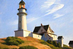 Lighthouse at Two Lights (1929) - Edward Hopper