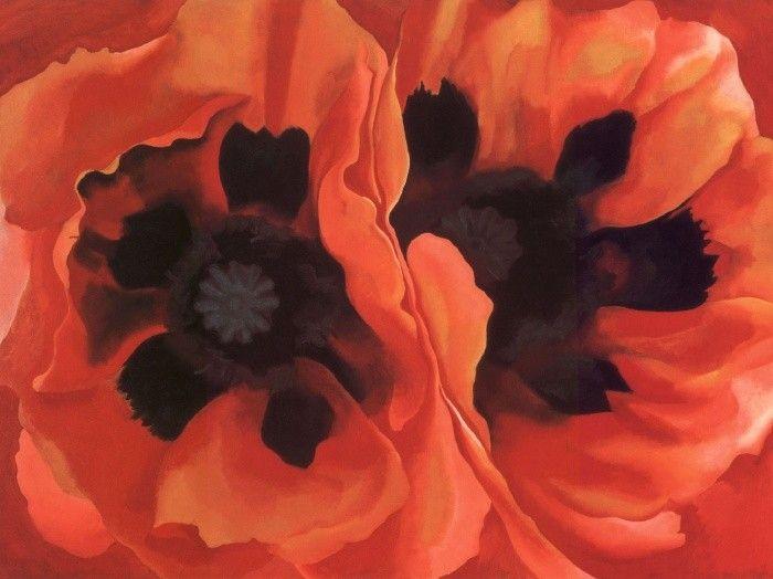 Oriental Poppies (1928) - Georgia O'Keeffe