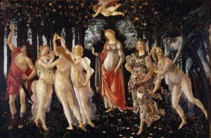 La Primavera / Het voorjaar(1478) - Sandro Botticelli