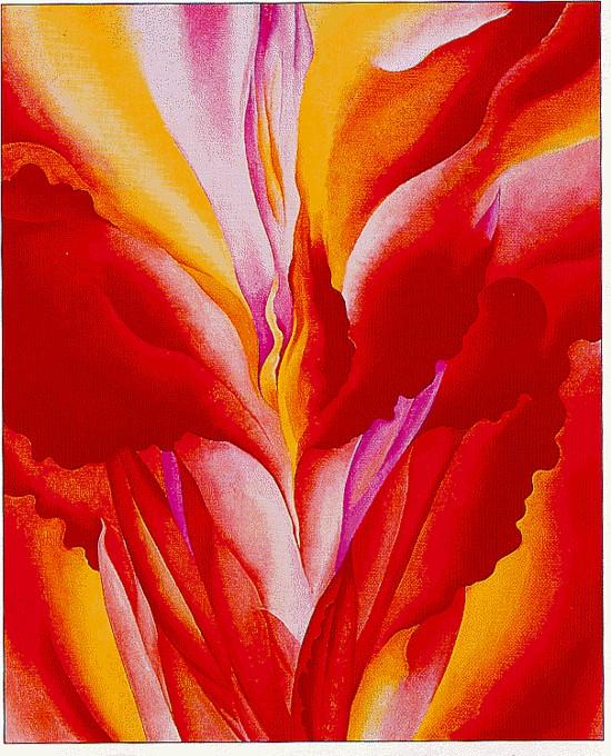 Red Canna (1924) - Georgia O'Keeffe