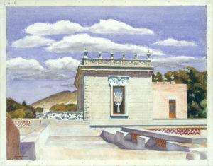 Saltillo Mansion (1943) - Edward Hopper