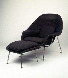Womb Chair, Model No. 70, designed 1947–1948,