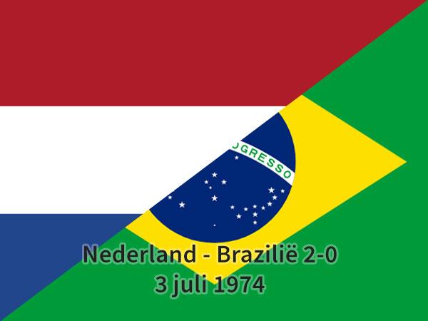 Nederland – Brazilië 2-0, 3 juli 1974
