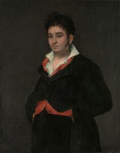 Portret van Don Ramón Satué, Francisco de Goya