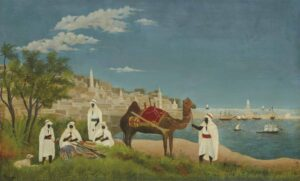 Paysage d'Alger / Algerijns landschap (1880) - Henri Rousseau