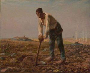 L'Homme à la houe / De man met de schoffel (1860-1862) - Jean-François Millet