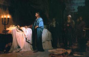 De opwekking van de dochter van Jairus