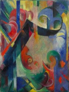 Zerbrochene Formen / Gebroken vormen (1914) - Franz Marc