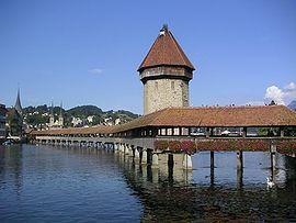 Kapelbrug in Luzern