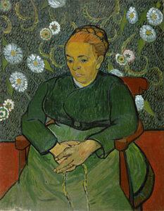 La Berceuse (1889) - Vincent Van Gogh