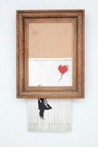 Girl With Balloon aka Love Is In The Bin - Banksy - 2006