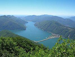 Meer van Lugano
