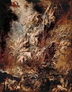 Afdaling van de verdoemden in de hel (1620) - Peter Paul Rubens