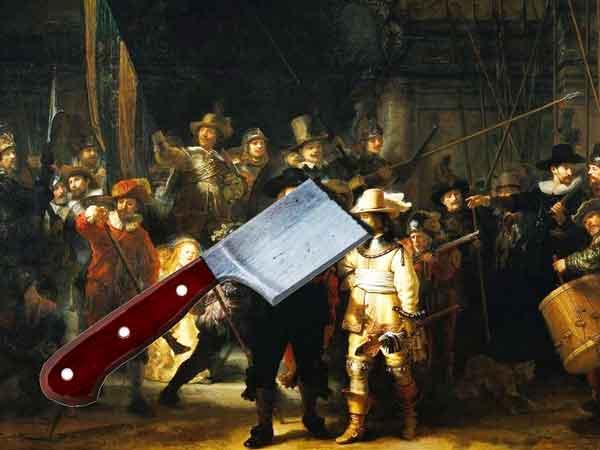 Beroemde vernielde schilderijen met name door vandalen – Een top 10