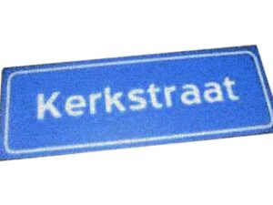 Meest voorkomende straatnamen in Nederland