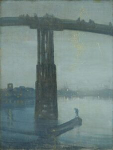 Nocturne: Blue and Gold – Old Battersea Bridge (1865) - James McNeill Whistler