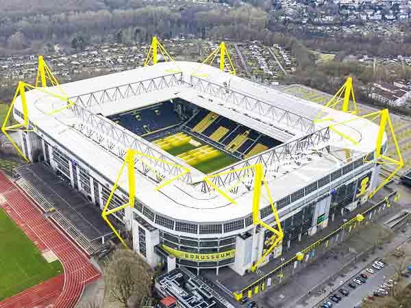 Grootste stadions in Duitsland – De top 40