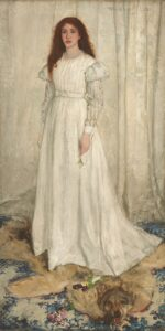 Symphony in White, No. 1: The White Girl (1861-62) - James McNeill Whistler