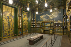 Harmony in Blue and Gold: The Peacock Room (1877) - James McNeill Whistler