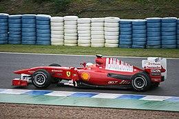 Alonso tijdens testdagen in Jerez in februari 2010
