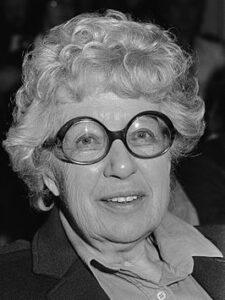 Annie M.G. Schmidt in 1984