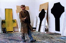 Arnulf Rainer in 1994