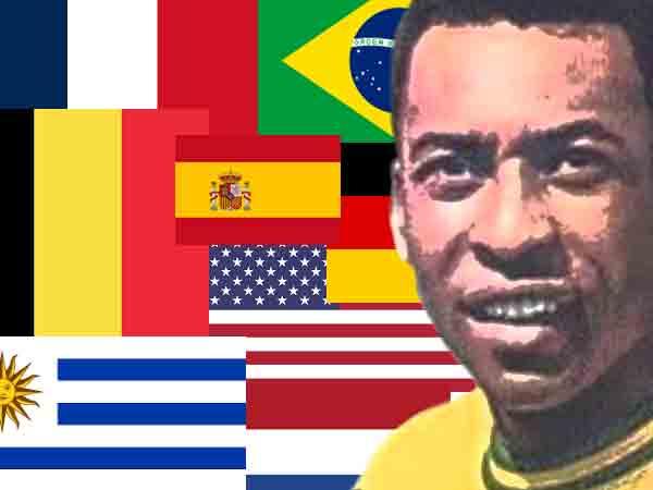 Beste voetballers per land – 60 landen: 60 voetballers