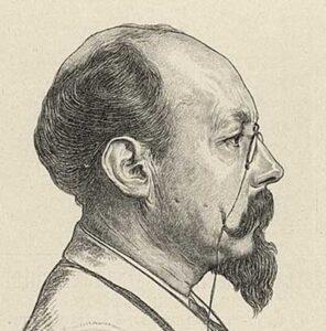 Marcellus Emants (lithografie van Theo Kerstel naar een tekening van Hendrik Haverman), 1897