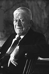 Oskar Kokoschka in 1963