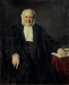 Portret van Beets door Thérèse Schwartze in 1881