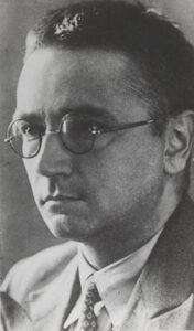 Simon Vestdijk rond 1940