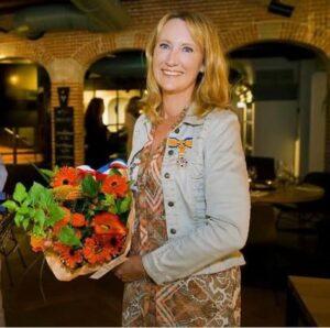 Simone van der Vlugt in 2020