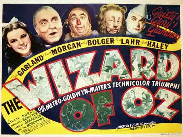 Beste muziekfilms aller tijden - The Wizard of Oz