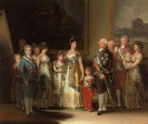 Carlos IV en zijn familie / La familia de Carlos IV (1800) - Francisco Goya