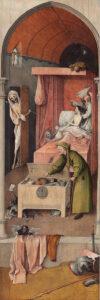 De dood van een vrek / Death and the Miser (ca. 1494 of later) - Jeroen Bosch